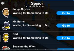 Cecil's Tasks Seniors