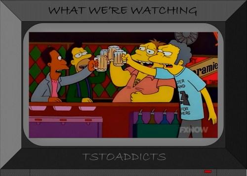 Easter Island Maoi Simpsons 3
