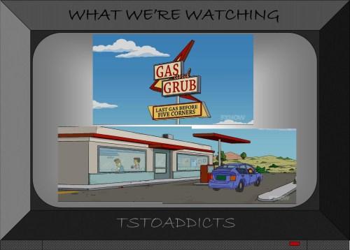 Gas and Grub Simpsons