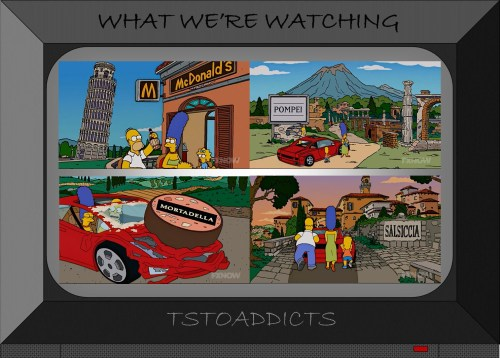 Simpsons in Italy