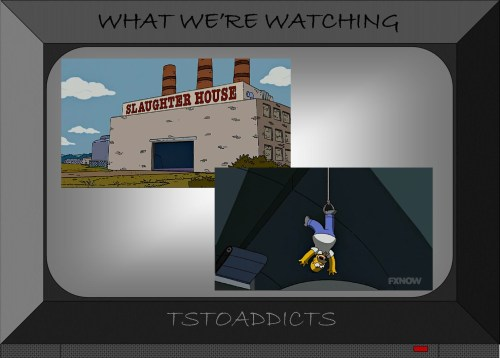Slaughter House Simpsons
