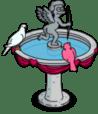 Cherub Bird Bath image