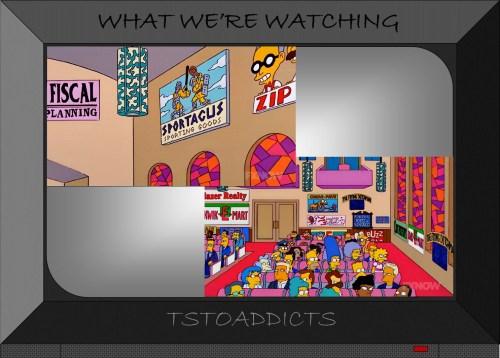 Sportacus sporting goods Simpsons 2