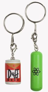 25th Anniversary Simpsons Keychains 2