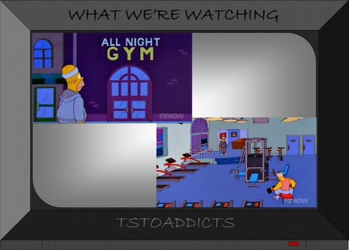 All Night Gym Simpsons