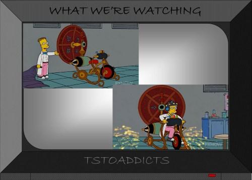 Chrono Trike Simpsons