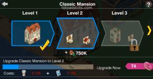 Classic Mansion Level 1 2 3