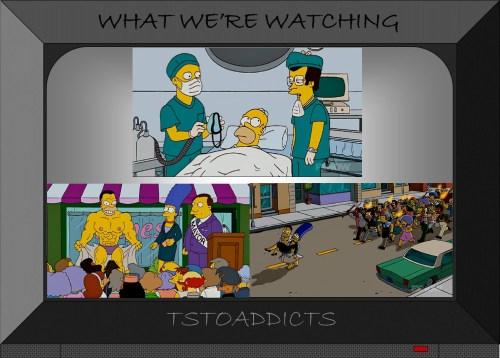 Homer Simpson Plastic Surgery Frankenstein