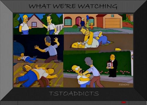 Homer Simpson vs President George H. W. Bush 3