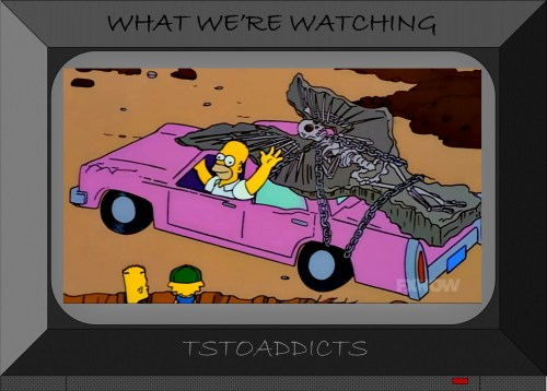 Homer steals angel fossil