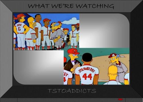 Mr. Burns Softball Simpsons