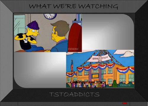 Oil at Springfield Elementary Simpsons 2