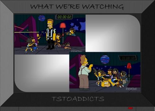 Simpson Laser Tag Simpsons 2