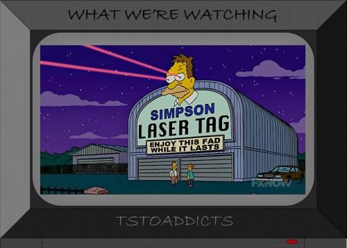 Simpson Laser Tag Simpsons