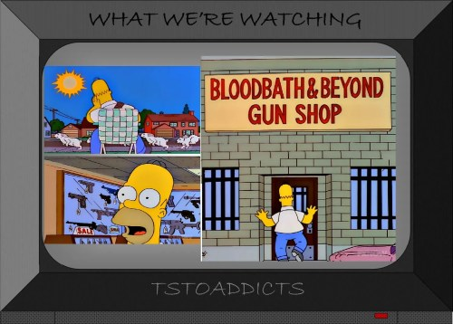 Bloodbath & Beyond Gun Shop Simpsons 2