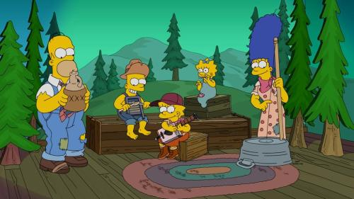 Back Woods Simpsons