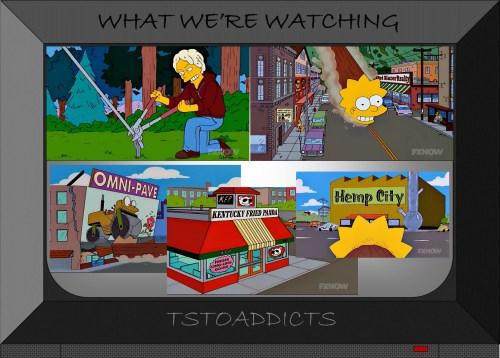 Lisa Log Omni-Pave Kentucky Fried Panda Hemp City Simpsons