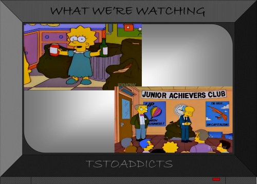 Recycling Junior Achievers Club Simpsons