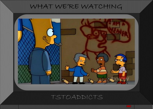 Simpsons More Stink Lines Boys