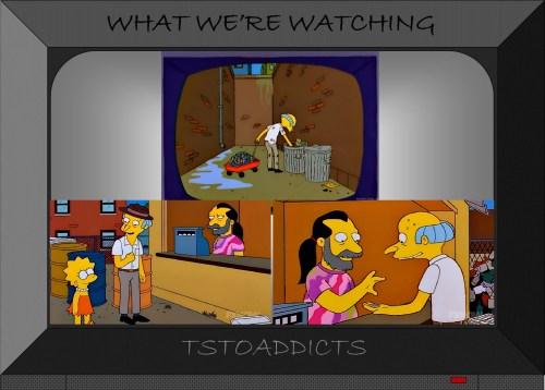 Uriah's Heap Recycling Center Hippie & Burns Simpsons