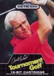 Arnold Palmer Tournament Golf Sega Genesis