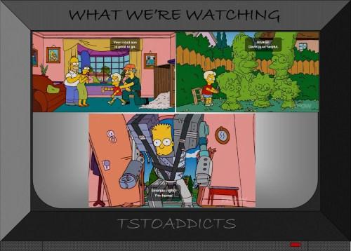Bartificial Intelligence Robo-Tot David Bart Cyborg Simpsons