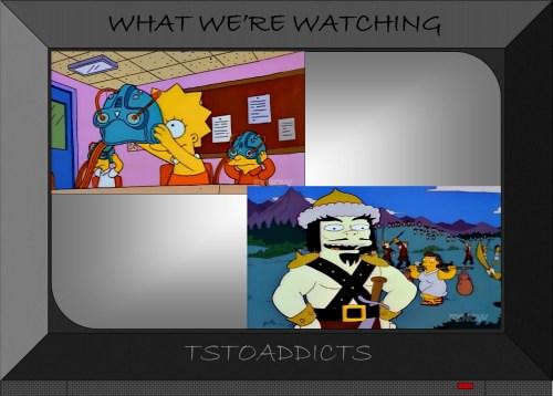 Genghis Khan virtual reality history Simpsons