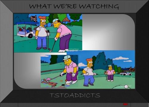 Golf Simpsons