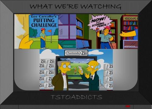 Golf Video Games Simpsons