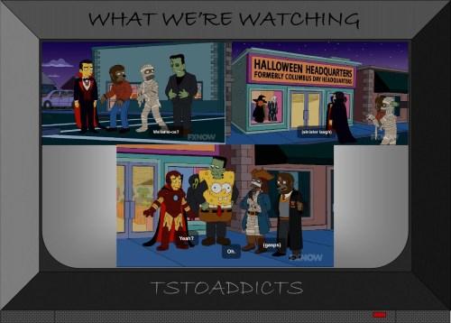 Halloween Headquarters Universal Monsters Simpsons