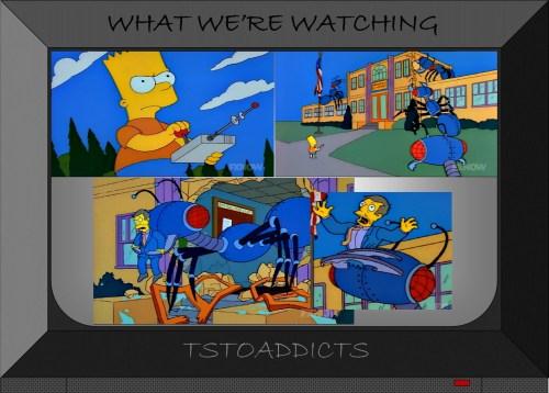 mechanical ants Simpsons