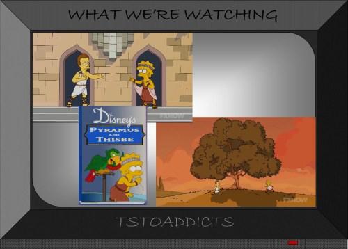 Pyramus and Thisbe Simpsons