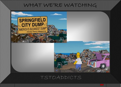 Springfield Dump America's Bleakest Dump Simpsons