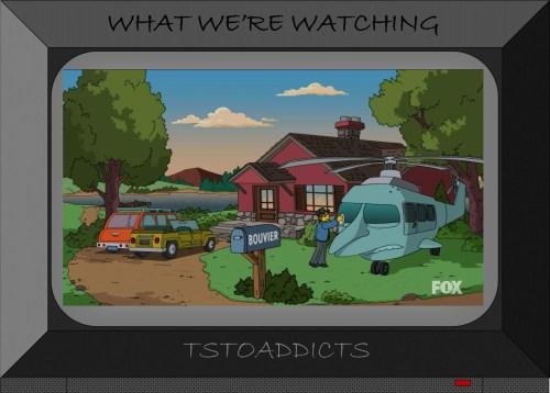 Grandma Jaqueline Bouvier's House Burns' Helicopter Puffless Simpsons Season 27 Episode 3