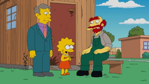THE SIMPSONS: Groundskeeper Willie becomes the coach of the mathletes in the all-new ÒMathleteÕs FeatÓ season finale episode of THE SIMPSONS airing Sunday, May 17 (8:00-8:30 PM ET/PT) on FOX. THE SIMPSONS ª and © 2015 TCFFC ALL RIGHTS RESERVED.