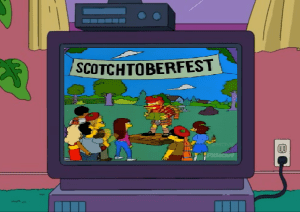 Scotchtoberfest Simpsons