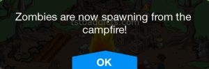 Zombies Spawn from Campfire