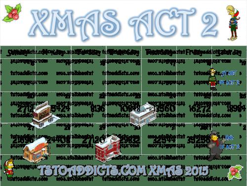 Act Two Calendar Xmas 2015