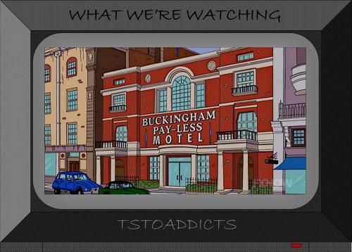 Buckingham Pay-Less Motel Simpsons