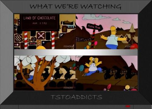 Land of Chocolate Simpsons