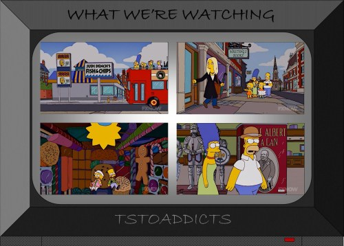 The Simpsons Go To England