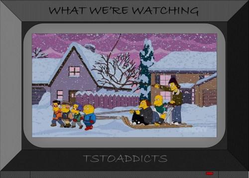Bullys make Nerds Mush like sled dogs Simpsons