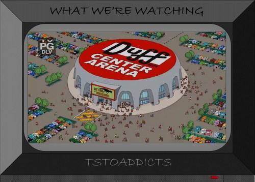 Duff Center Arena Simpsons