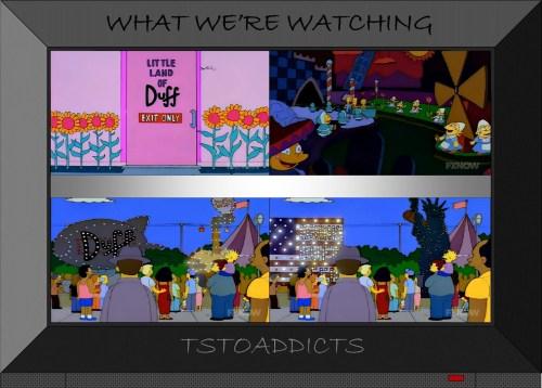 Duff Gardens Little Land of Duff & Duff Light Parade Simpsons