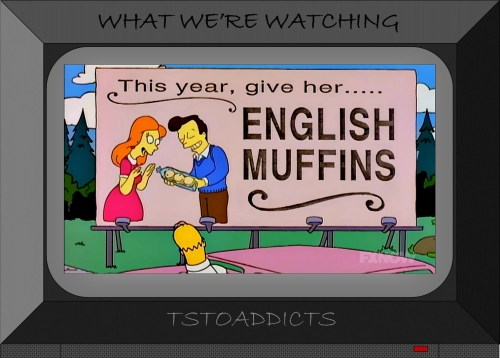 English Muffins Billboard Simpsons