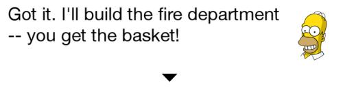 Fire Department Homer TSTO Dialogue