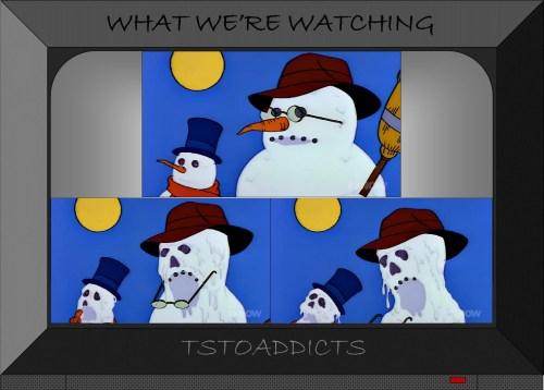 Indiana Jones Snowmen Simpsons