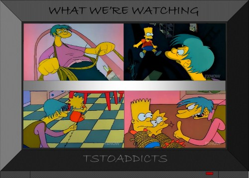 Lucille Botzcowski Mrs. Botz Babysitter Bandit Simpsons 3