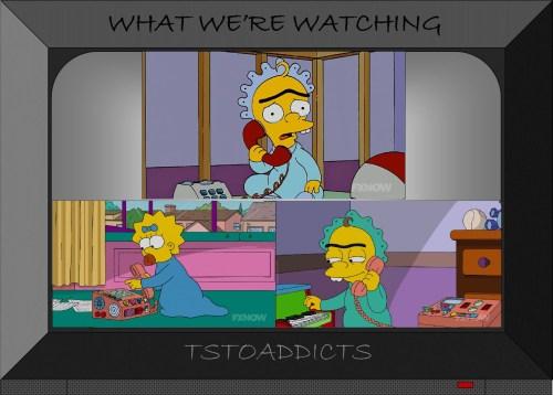 Maggie calls Baby Gerald Simpsons