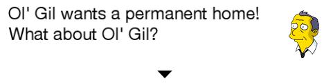 Ol' Gil TSTO Dialogue